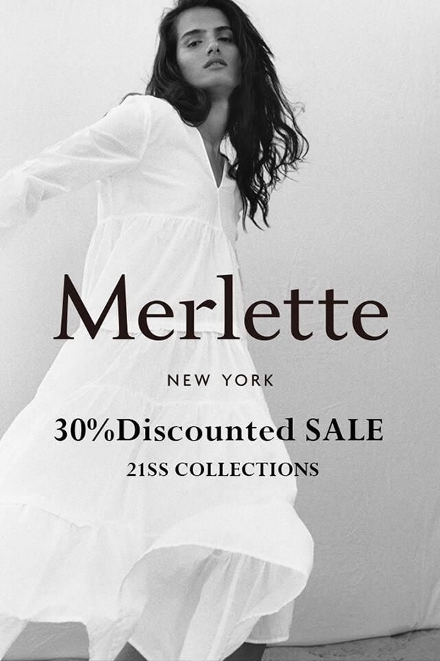 Merlette 21SS SALE開始